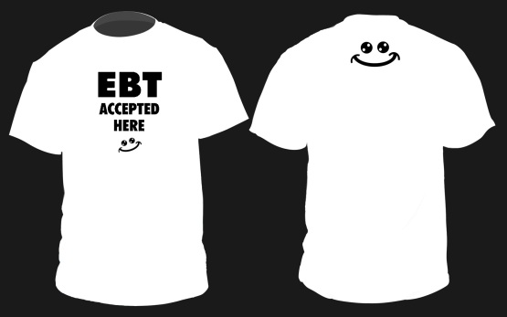 EBT ACCEPTED HERE 1.0 concept front and back